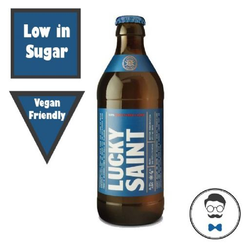 Lucky Saint  Unfiltered Alcohol Free Lager (0.5% ABV)